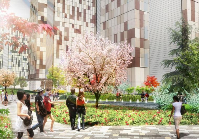 [北京]泰禾居住区景观设计方案文本(PDF+73页)