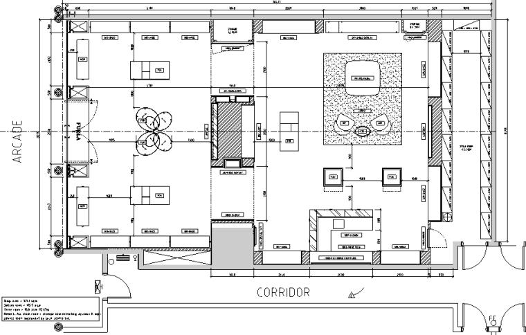 IZZUE店面效果图资料下载-澳门巴黎人购物中心店设计施工图(附效果图)