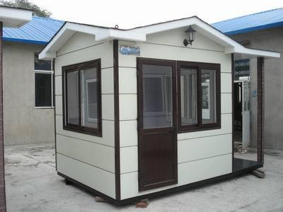 移动房屋展览会上的集装箱别墅——豪华大气
