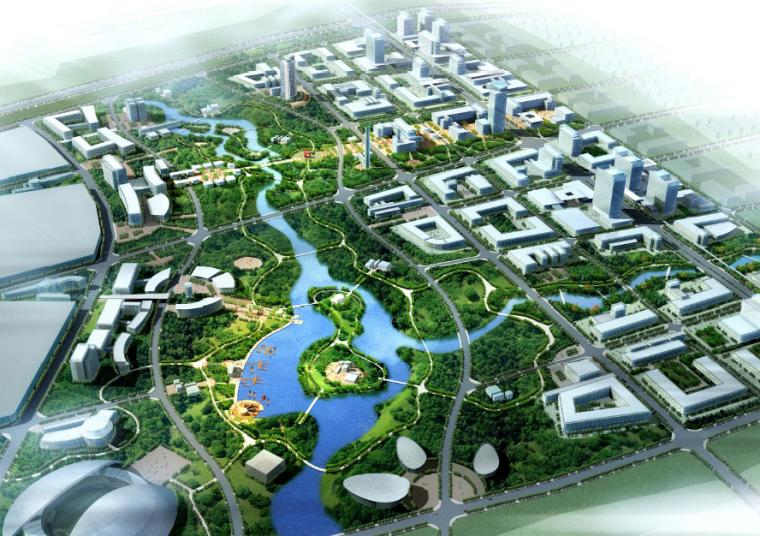 [辽宁]蒲河新城总体规划及重点地段城市设计方案文本