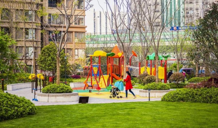 上海中海万锦城三期ArtDeco风格居住区景观设计_3