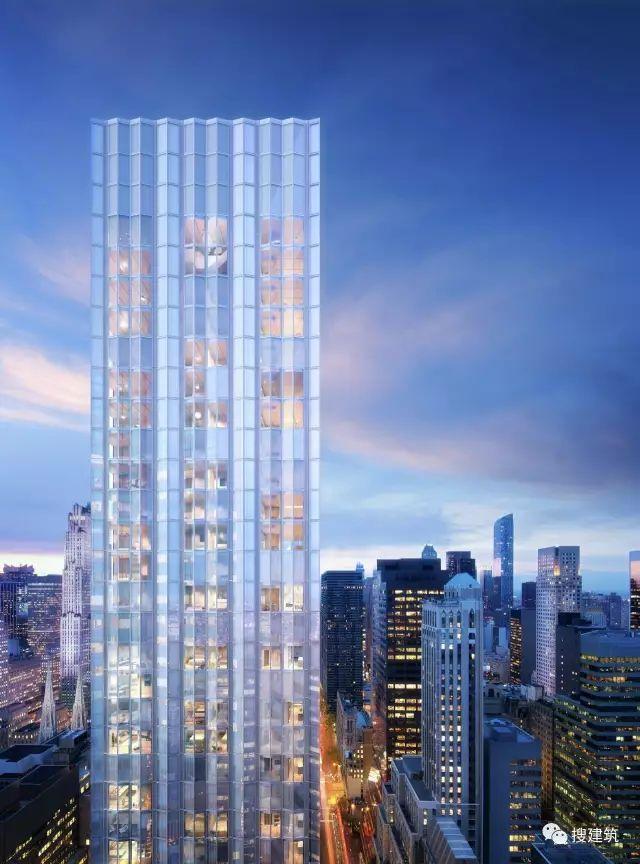 """万科在纽约开发的""""新地标住宅"""",高200米,1000-1600平方英尺的_5"""