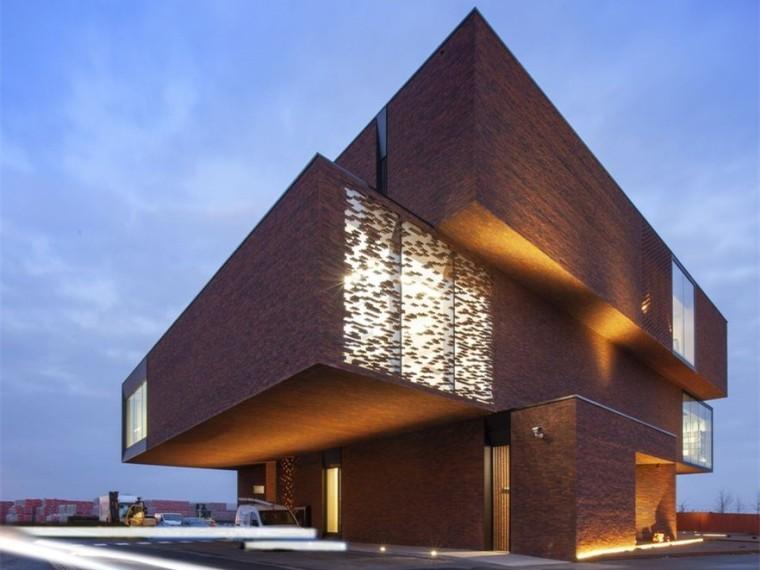 比利时内利森砖业办公建筑
