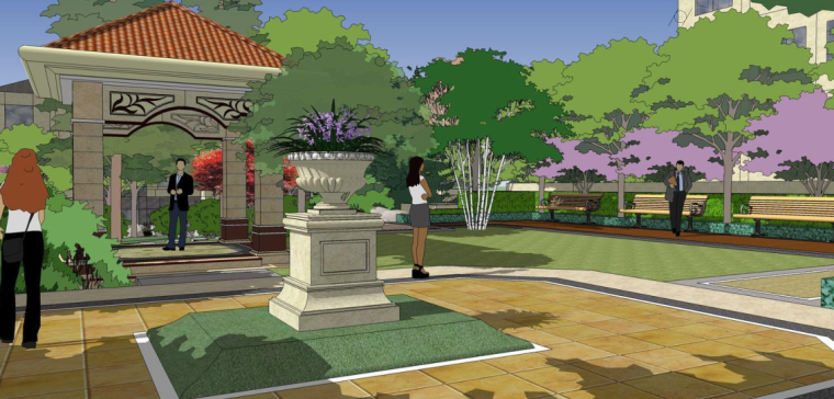 [山东]世界园艺博览会配套酒店景观设计(欧式风格)_5