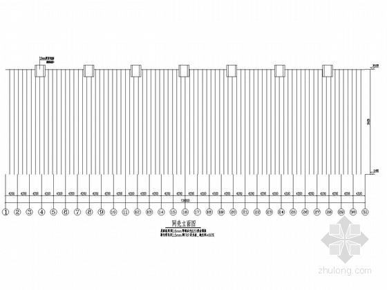 101米跨煤棚网壳结构施工图(图纸详细)