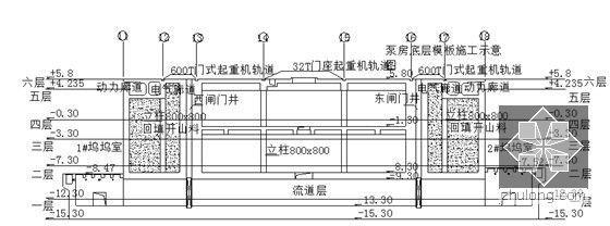 5泵房分层施工图