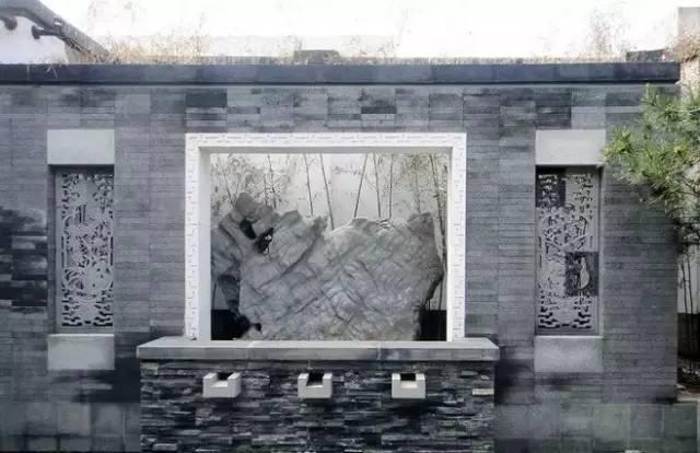 渗透在骨子里的中式情怀的景墙,干净、明亮!_34