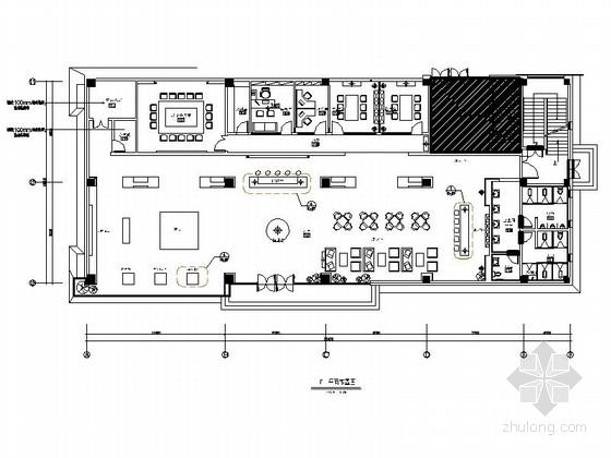 [江苏]中国园林之城楼盘区简欧综合楼室内装修施工图(含效果及实景)