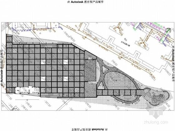 [重庆]社区活动广场景观规划设计施工图