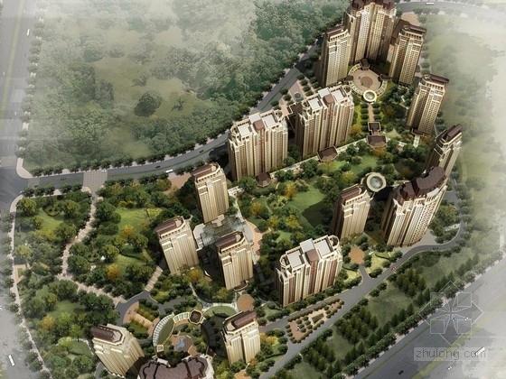 [辽宁]美式风格超高层住宅区规划设计方案文本(多种方案 知名地产)