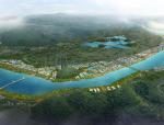 [广东]某市一江两岸滨水城市景观方案设计