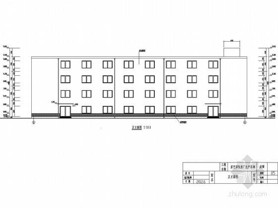 [学士]四层钢网架结构生产车间毕业设计(含建筑图、结构图、计算书)