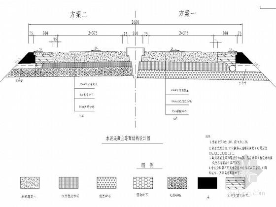 一级公路工程毕业设计全套设计资料(102张 极其全面)