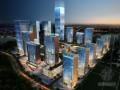 城市夜景建筑3D模型下载