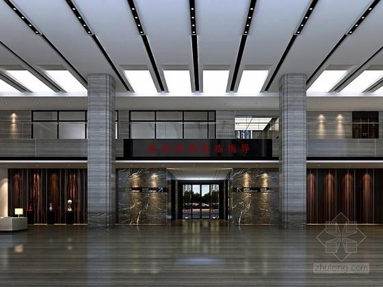 [宜昌]高档现代地产实业公司办公室设计方案
