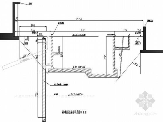[河南]污水厂排泥池基坑排桩支护及开挖监测施工方案
