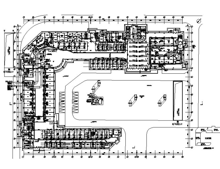 贵州务川医院住院部门诊暖通设计施工图