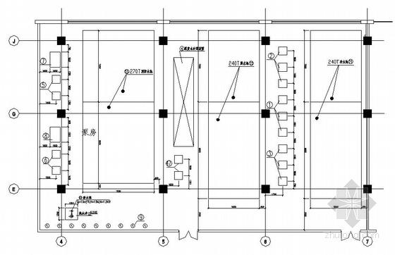 生活水泵房给排水设计图