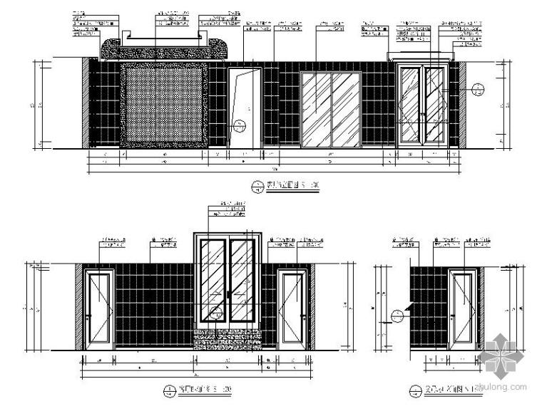 [杭州]某四居新古典样板房装修图_2