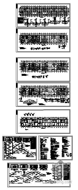 黑龙江省某底框砖混住宅结构图