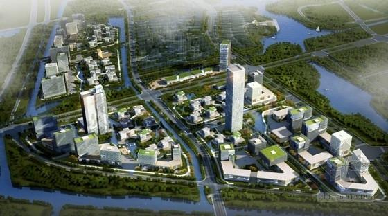 [北京]现代风格高科技产业园区规划设计方案文本(含单体设计)