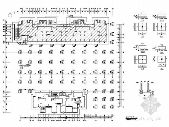 单层框架结构商业楼结构施工图