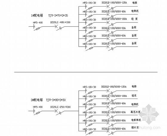 [湖南]高层商住楼工程临时用电专项施工方案