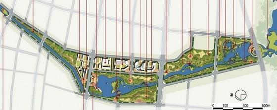 [山东]低碳生态活力城市景观规划设计方案-总平面图
