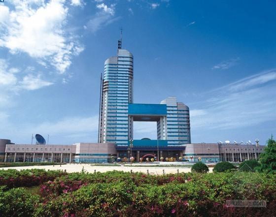 [湖南]2014商務樓建筑安裝工程量清單及招標文件(含施工合同)