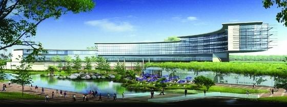 [上海]大型医学园区规划及单体设计方案文本(美国知名建筑设计公司)