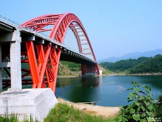 大跨径中承式钢管混凝土拱桥缆索安装施工方案(65页)