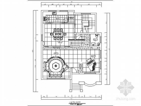 [北京]大气温暖两层别墅施工图(含效果图)