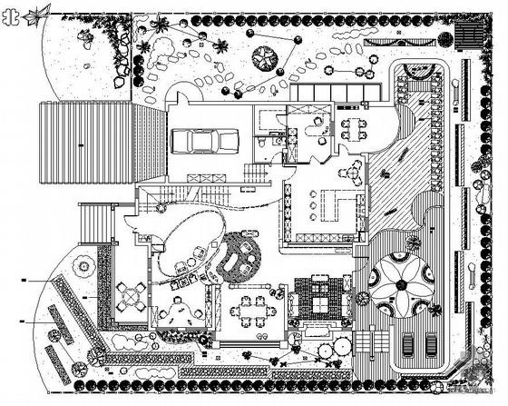 北京某别墅规划设计平面图