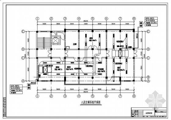 某中医药科研楼改造工程暖通空调设计图