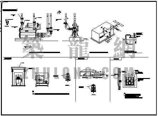 空调设备及接管大样图