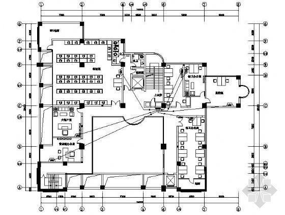 农行19层大楼二次装修电气施工图