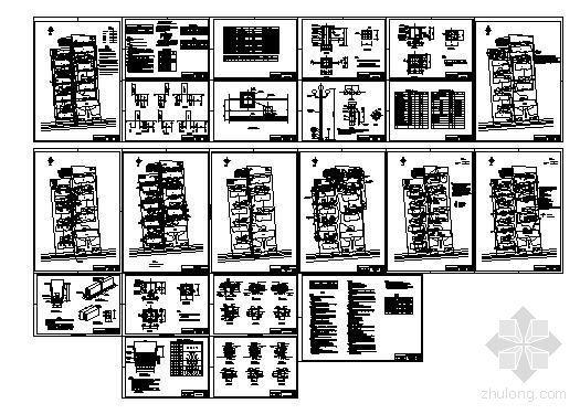 某小区热力站室外管线设计图纸