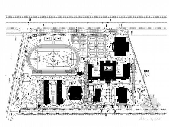 [上海]知名大学建筑全套电气施工图纸417张(含计算书及审图意见)
