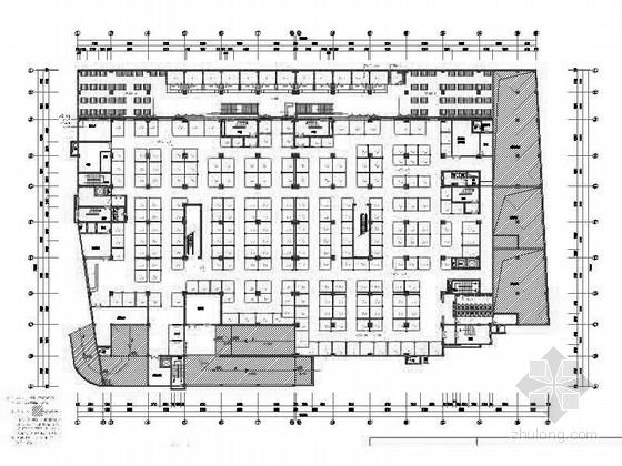 [扬州]某广场数码城装修施工图