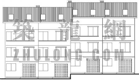 坡地别墅建筑方案图