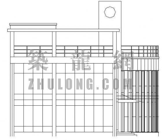 典型的小型办公楼建筑施工设计方案
