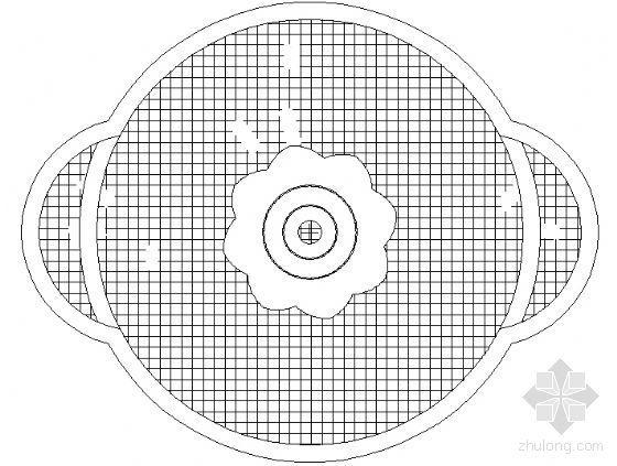 中心广场龙珠喷水池施工图