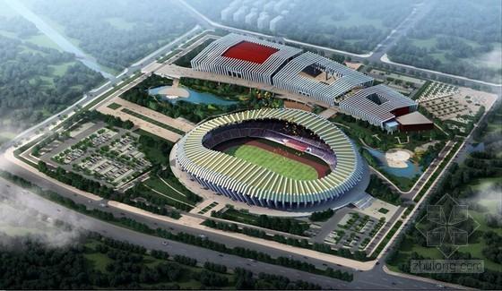 站前广场质量管理策划资料下载-[西藏]群众文化体育中心工程施工质量管理汇报(图文丰富)