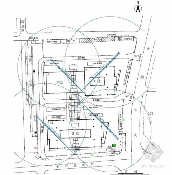 [北京]钢框架核心筒结构大厦施工组织设计(中建)