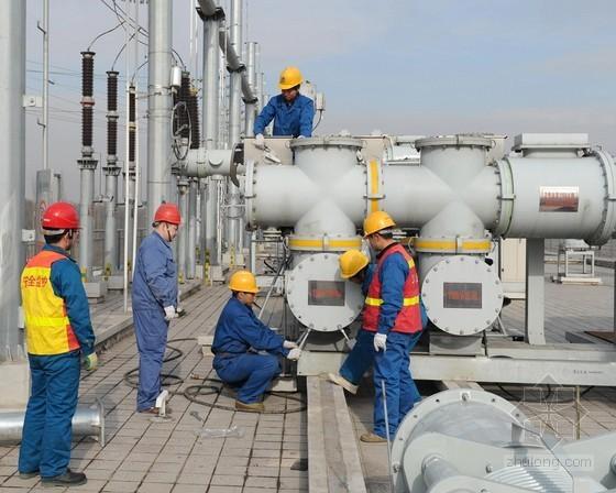 220千伏变电站电气施工工艺策划64页