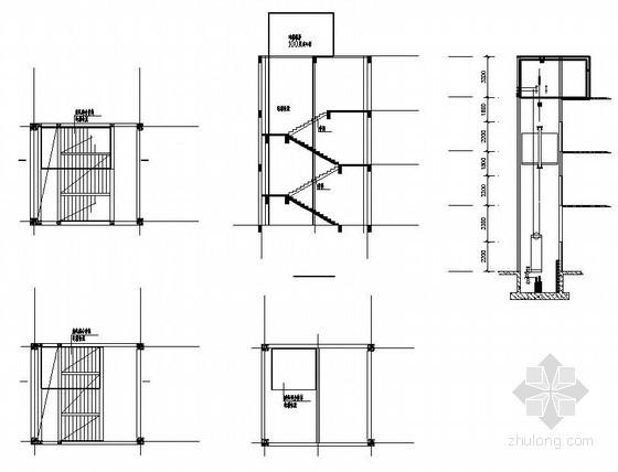 合肥某电梯井结构施工图