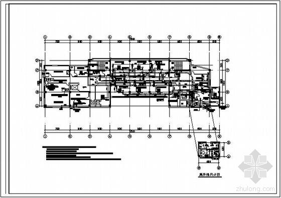 VRV空调装修图资料下载-餐厅VRV空调平面布置图