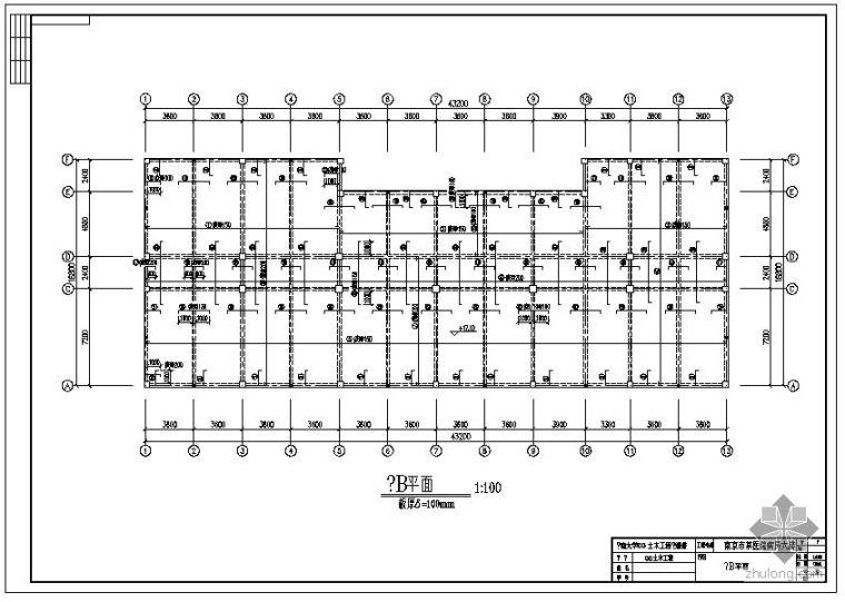 [学士]某框架医院毕业设计(含计算书、建筑结构设计图)