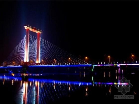 [地标建筑]跨运河独塔双索面斜拉桥图纸131张(含梯道)