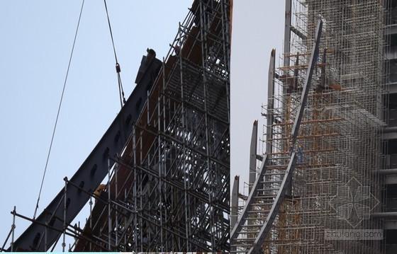 [QC成果]悬链状柔性钢结构施工方法创新成果汇报(31页 悬链状柔性钢结构技术)